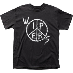 Wipers Logo T-Shirt - shop.AxeDr.com - Best Band T-Shirts, Vintage Rock and Roll T Shirts, Metal Band T-Shirts, Punk T Shirts - Men's T-Shirts