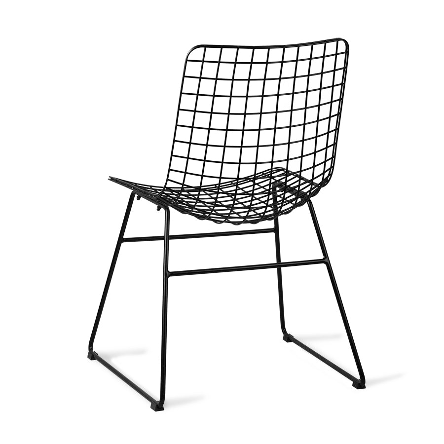 Chaise Wire Noire