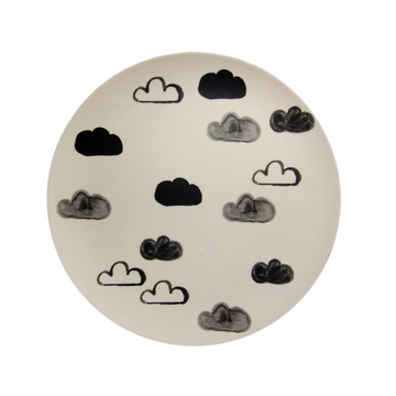 Assiette Bamboo - Nuages