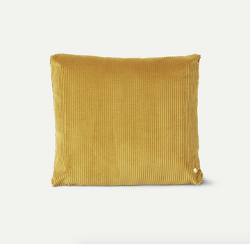 Coussin Corduroy - Moutarde