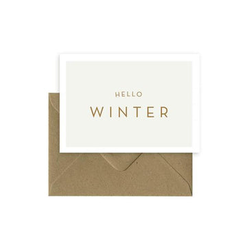 Carte - Hello Winter