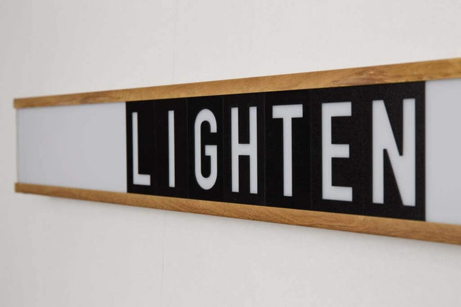 Light box personnalisable