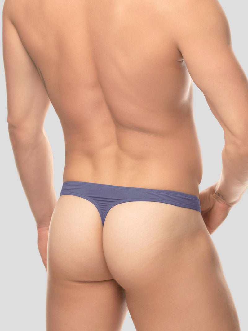 Men's Sporty Bikini Thong - Slate