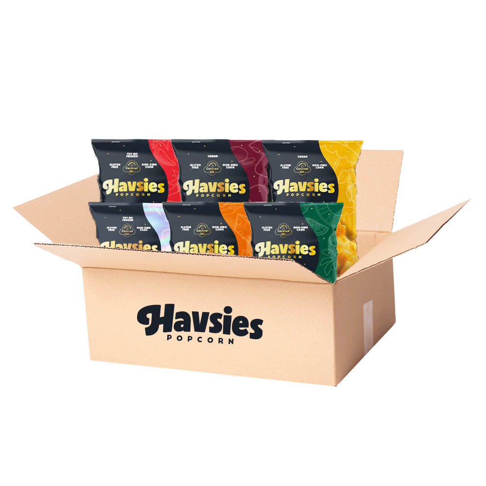Havsies Share Variety Box (6 Share bags, 1 of each of the Starting Six)