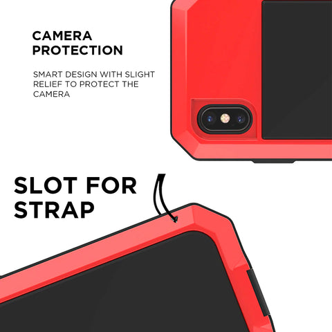 full body military case camera protection