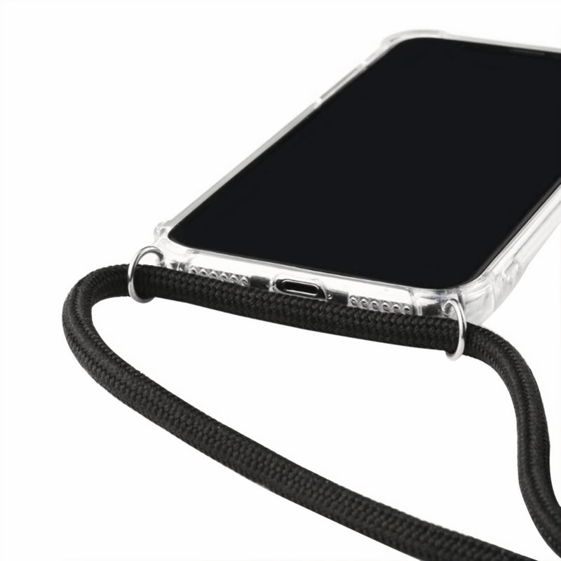 Transparent Samsung Galaxy S Case with Neck Strap