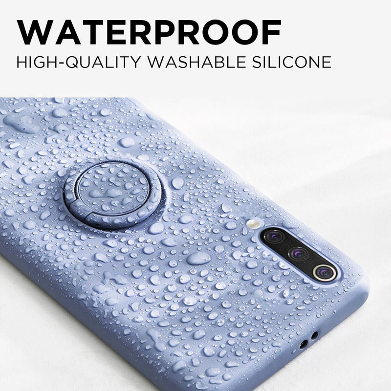 Soft Silicone Huawei Mate Case with Ring Stand