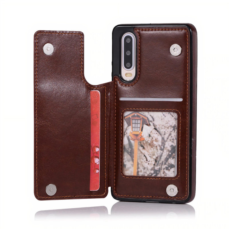 Huawei P Leather Stand Wallet Case