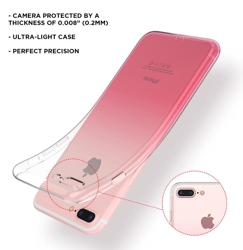 See-through Color Gradient iPhone Case
