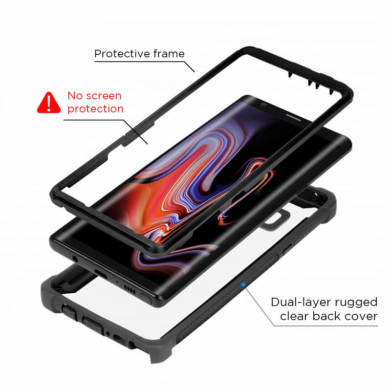 Rugged Two-Piece 360 Samsung Galaxy A Protective Case