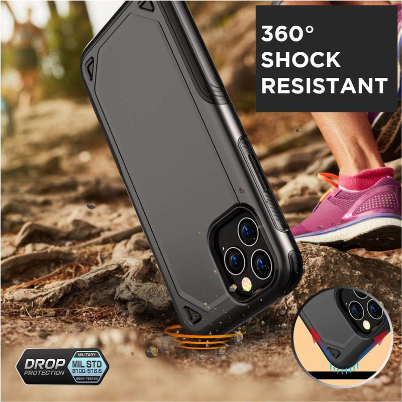 Shockproof Armor iPhone Slim Hard Case