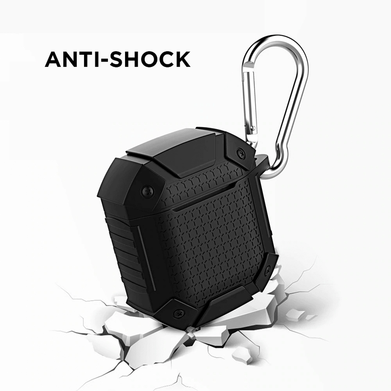 Shockproof Sports Protective Case AirPods with Karabiner