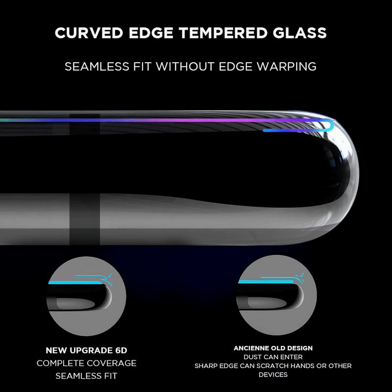 Curved Tempered Glass iPad Screen Protector