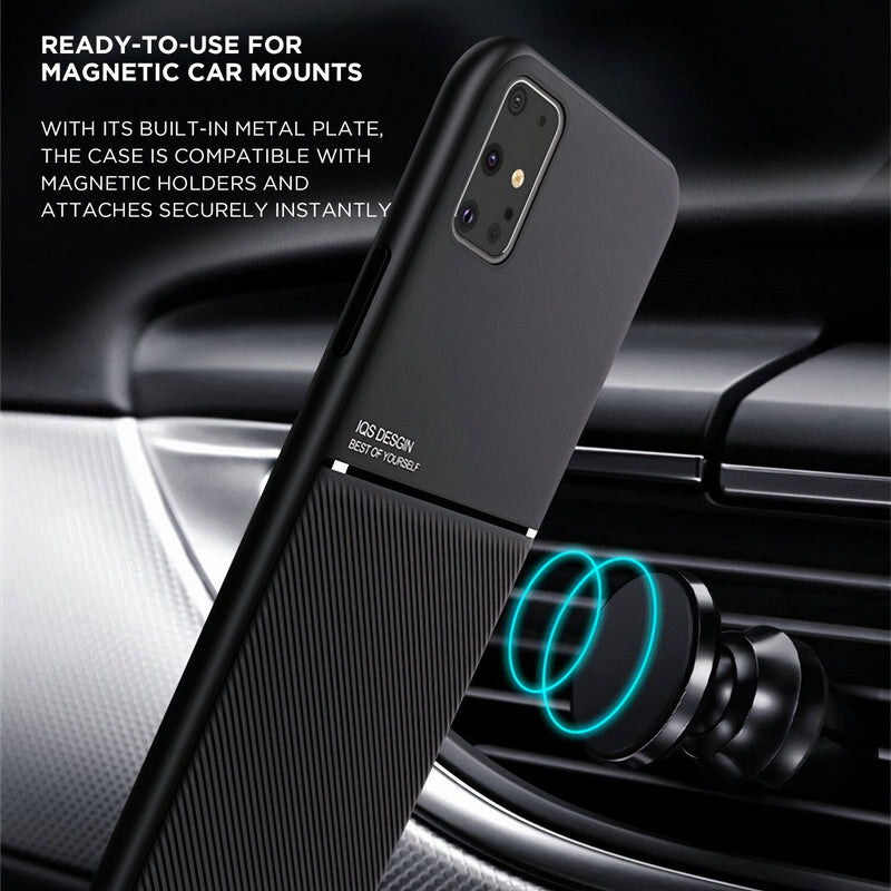 Matte Color Samsung Galaxy Note Case Compatible with Magnetic Holder