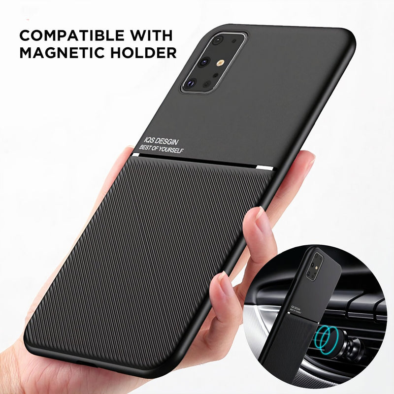 Matte Color Samsung Galaxy A Case Compatible with Magnetic Holder