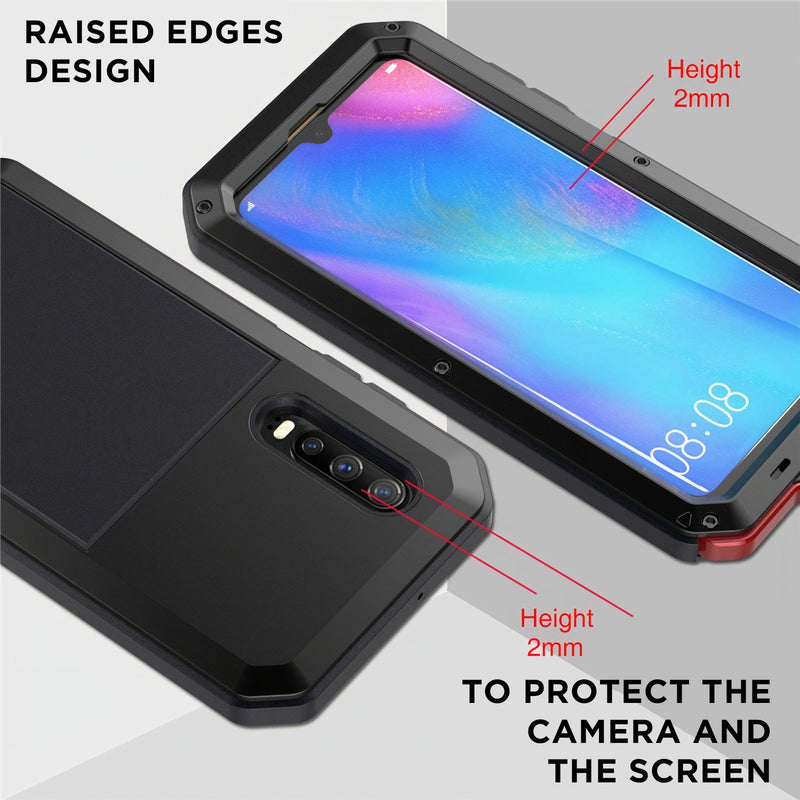 Full Body Military Grade Huawei P Case