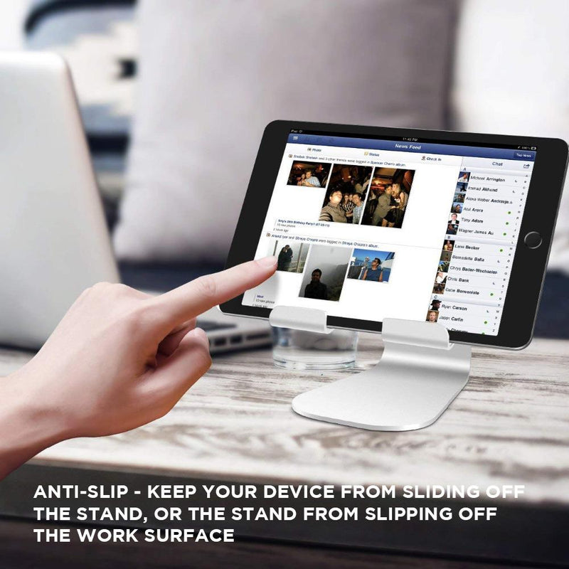 Metallic Adjustable Anti-Slip iPad Stand