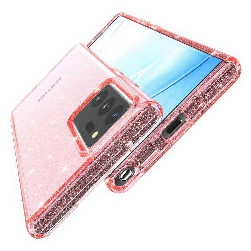 Samsung Galaxy Note Glitter Clear Case