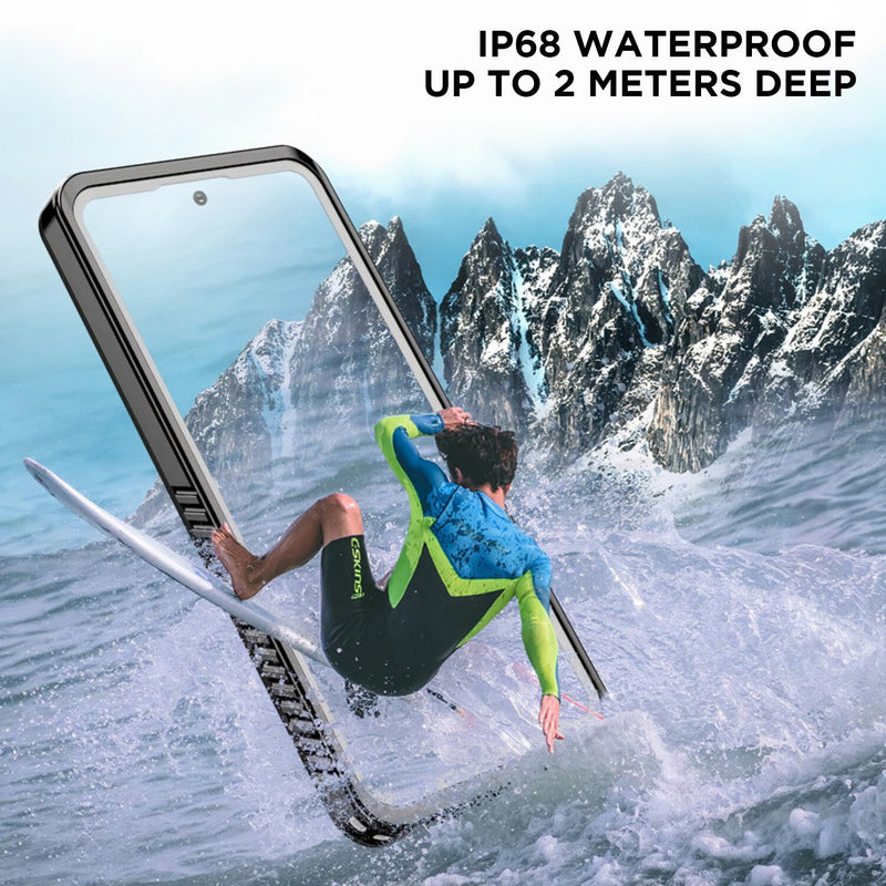 Full Body Waterproof Samsung Galaxy Note Case for depths up to 6.6 ft (2 meters)