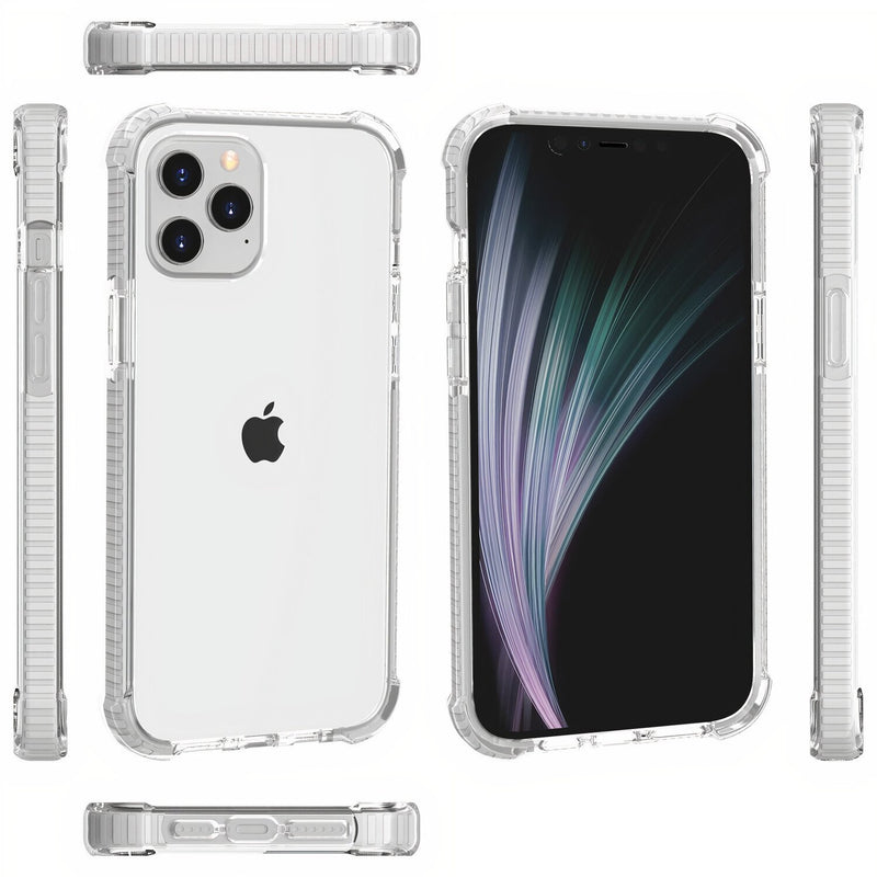 Rugged Shockproof iPhone Clear Case