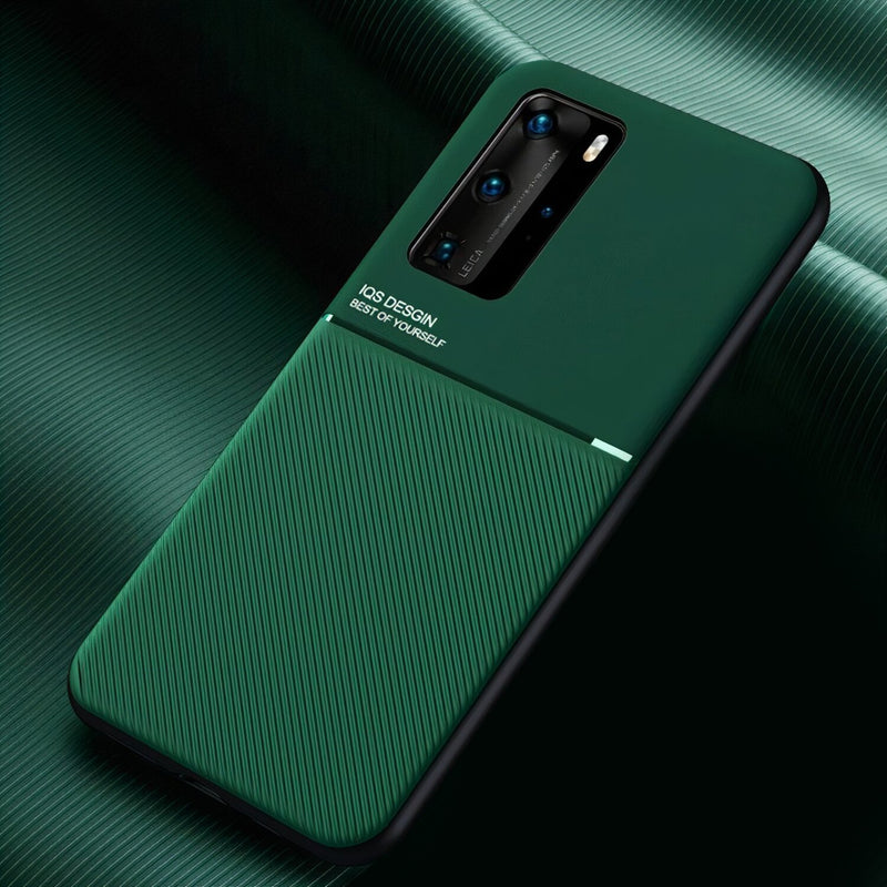 Matte Color Huawei P Case Compatible with Magnetic Holder