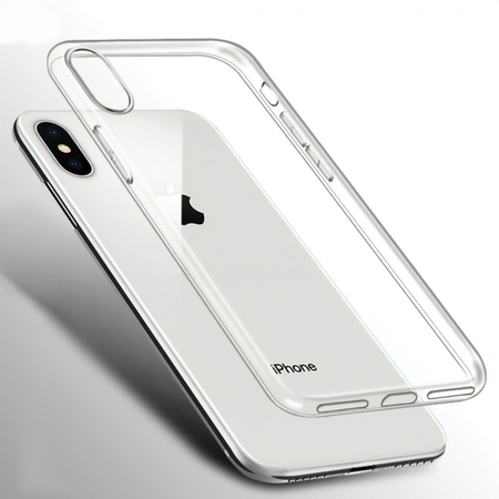 Ultra Thin Clear iPhone Gel Case