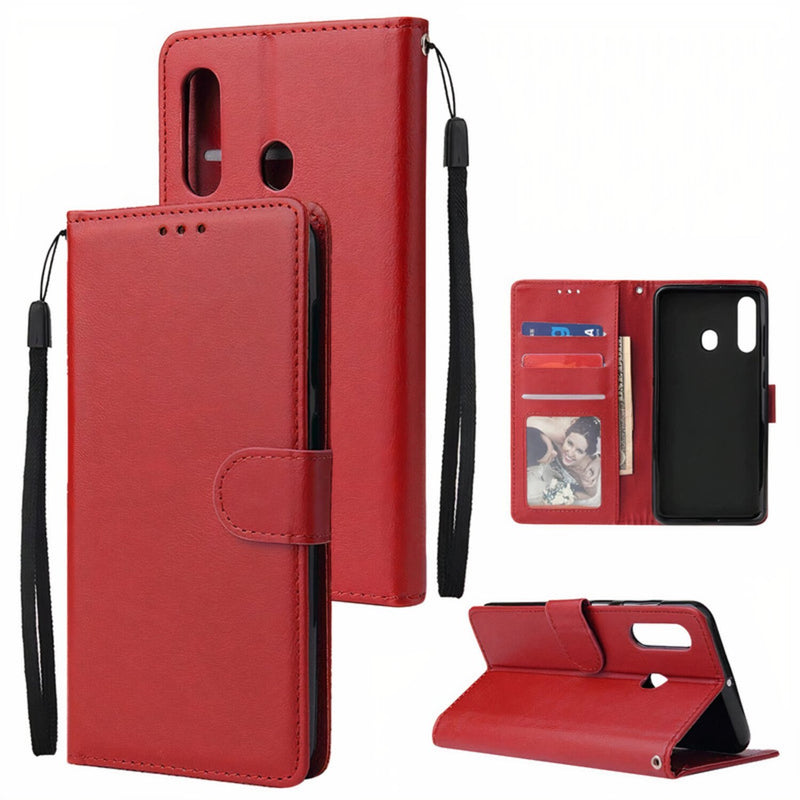 Samsung Galaxy A Leather Wallet Flip Cover Case