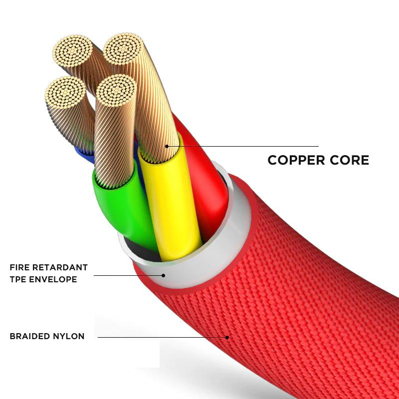 iphone cable fire retardant