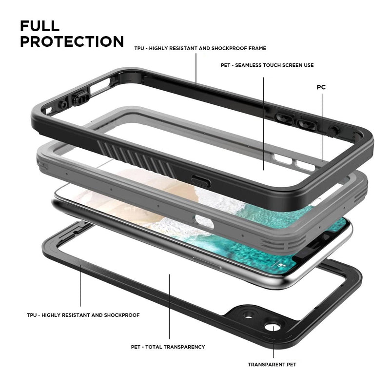 iphone case with full protection military grade