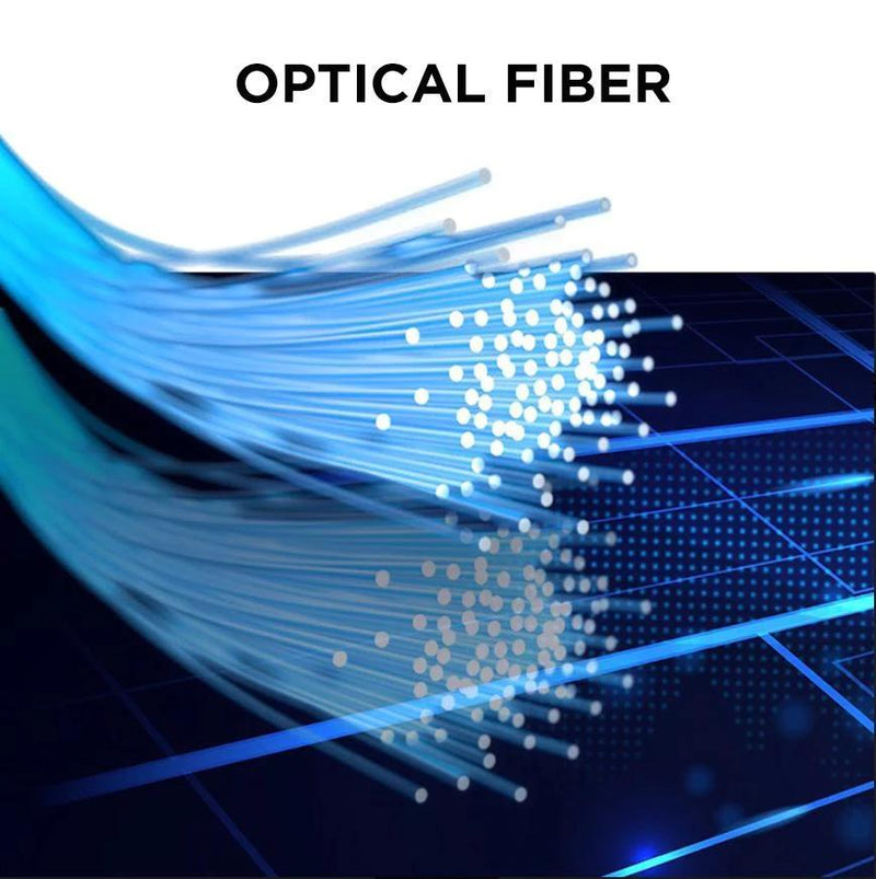 optical fiber flowing iphone cable