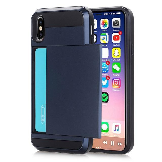 iPhone Case with Secret Credit Card Compartment