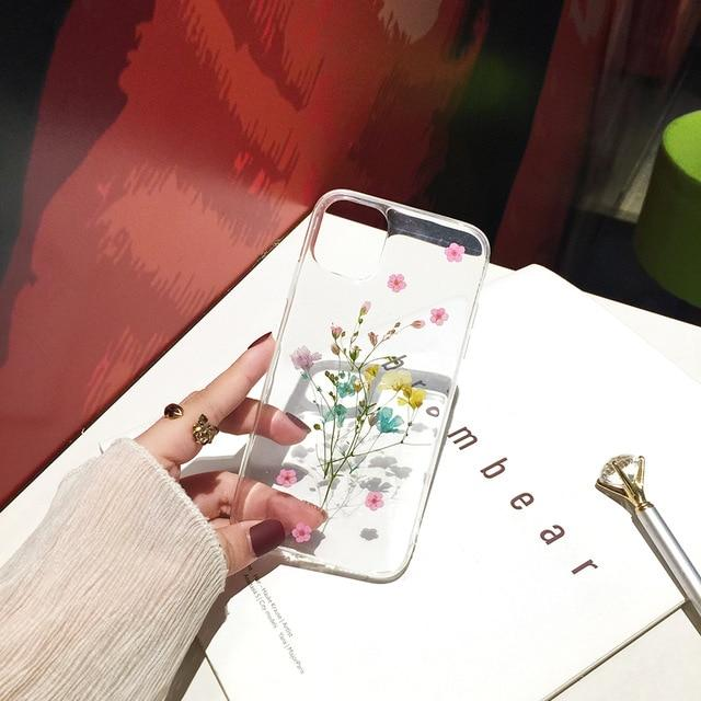 Dried Flowers iPhone Cover