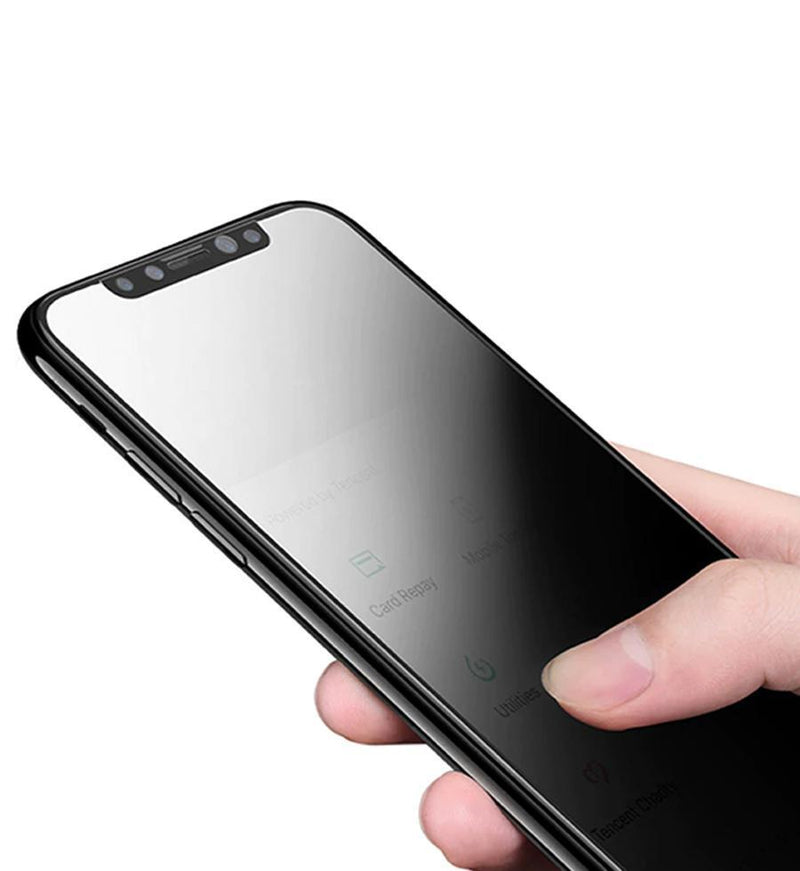 Anti-spy Tempered Glass iPhone Screen Protector