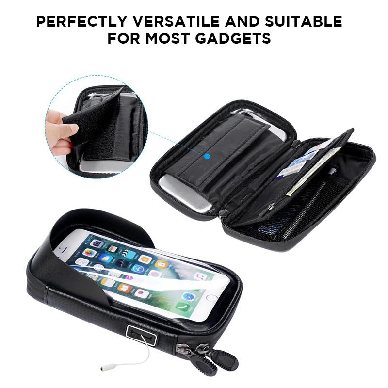 100% Waterproof Bike and Motorcycle iPhone Pouch