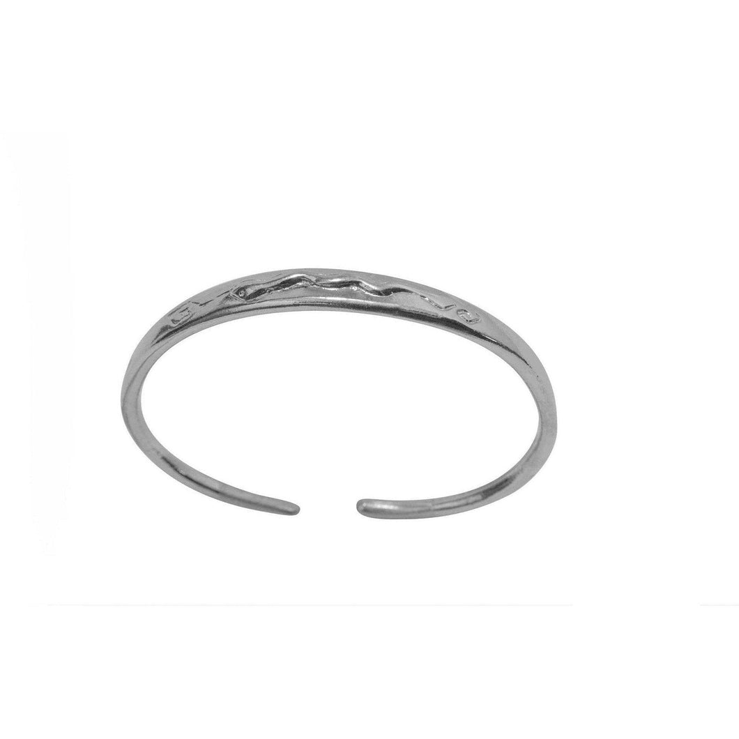 Bracciale con Serpente in rilievo Argento 925 - Museum-Shop.it