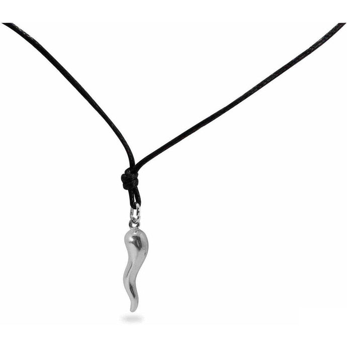 Ciondolo Corno medio in Argento 925 - Museum-Shop.it