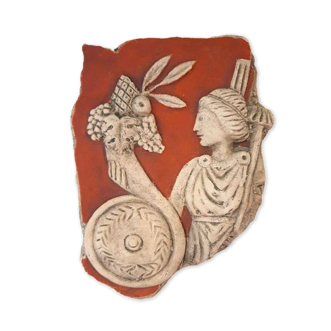 Fortuna Frammento in Terracotta