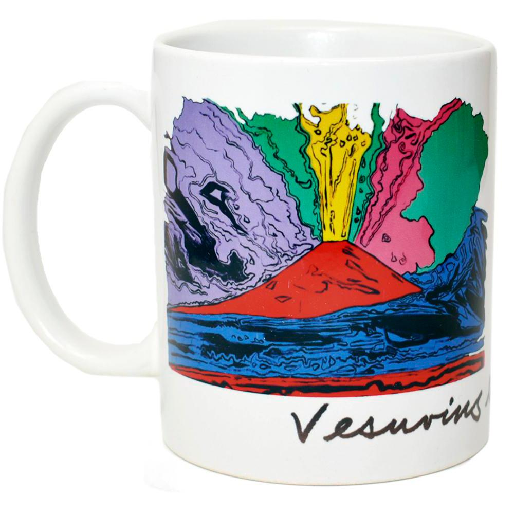 Tazza Vesuvius Andy Warhol 1985 - Museum-Shop.it