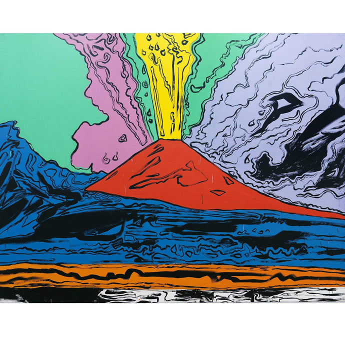 Tela Vesuvius Andy Warhol varie misure - Museum-Shop.it
