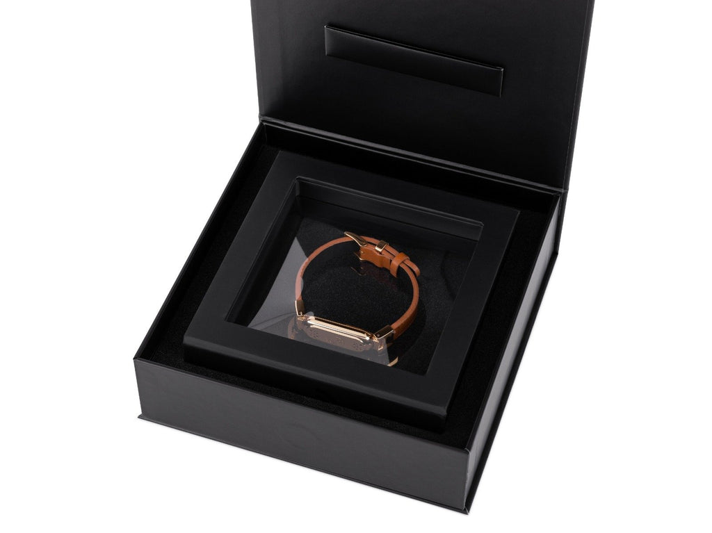 wireless_earth_bracelet_premium_edition_leather_gold_box_5g_technology