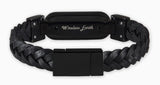 wireless_earth_bracelet_premium_edition_braided_leather_black_5g_technology_techno