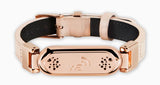 wireless_earth_bracelet_premium_edition_leather_rose_gold_front_5g_technology