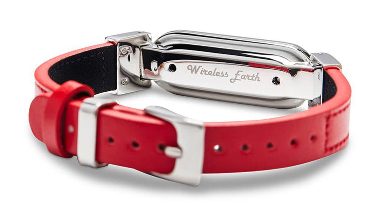 wireless earth_bracelet_red_5getechno_normal_back