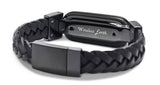 wireless_earth_bracelet_premium_edition_braided_leather_black_back_5g_technology