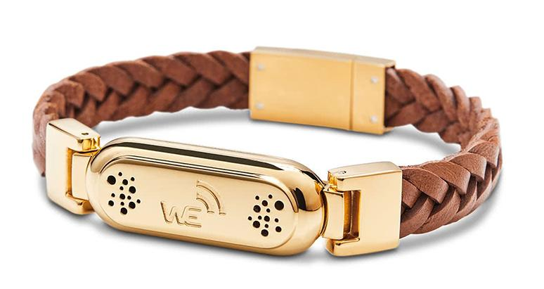 wireless_earth_bracelet_premium_edition_braided_leather_gold_front_5g-technology