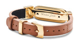 wireless_earth_bracelet_premium_edition_leather_gold_back_5g_technology
