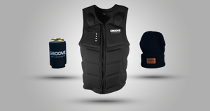 Groove Vest + Koozie & Beanie Bundle | Try Before You Buy (Free Shipping)