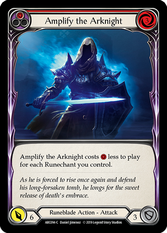 Amplify the Arknight - Red