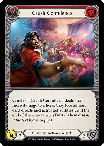 Crush Confidence - Red