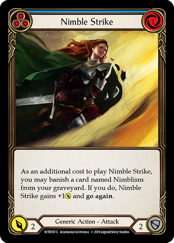 Nimble Strike - Blue
